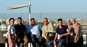 """Deltagare i projektet """"Dialog för fred"""" möts i Tunisien."""